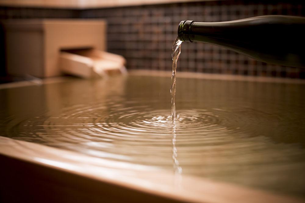 日本酒風呂